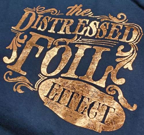 Distressed Gold Foil